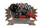 Motor Sports Go Kart Plate Academic Accolade Plate Trophy Awards