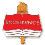 Excellence Lapel Pin Chenille Lapel Pins