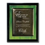 Green Metallic Fusion Employee Awards