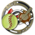Enamel Softball Enamel Medal Awards