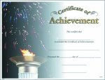 Photo Certificate of Achievement Fill in the Blank Certificates