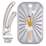 Cheer Dog Tag GL Series Dog Tags