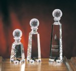 Golf on Gate Tower Golf Glass and Crystal Awards