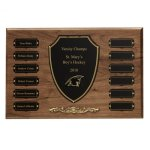 Cast Bronze Trim Perpetual Plaque Monthly Perpetual Plaques