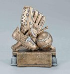 Participation Theme Baseball Participation Theme Resin Trophy Awards