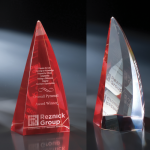 Apollo Red Optical Crystal Awards