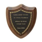 Laurel Shield Plaque Shield Plaques
