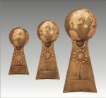 Ball Pedestal Victory Globe Victory Trophy Awards