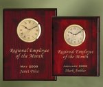 Piano Finish Wood Plaque Clock Wall Clocks